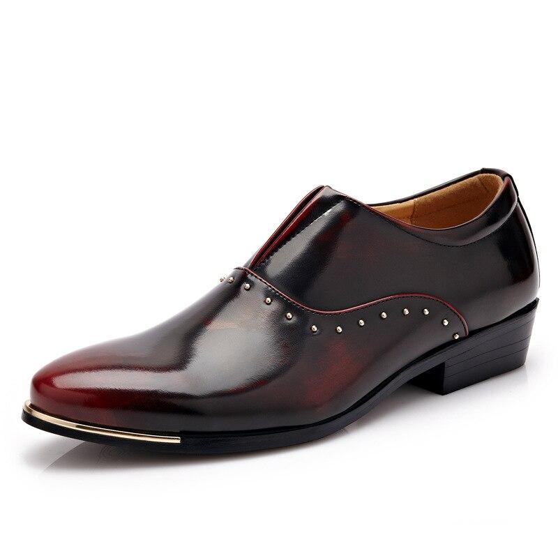 Fashion New 2016 Italian Designer Formal Mens Dress Shoes