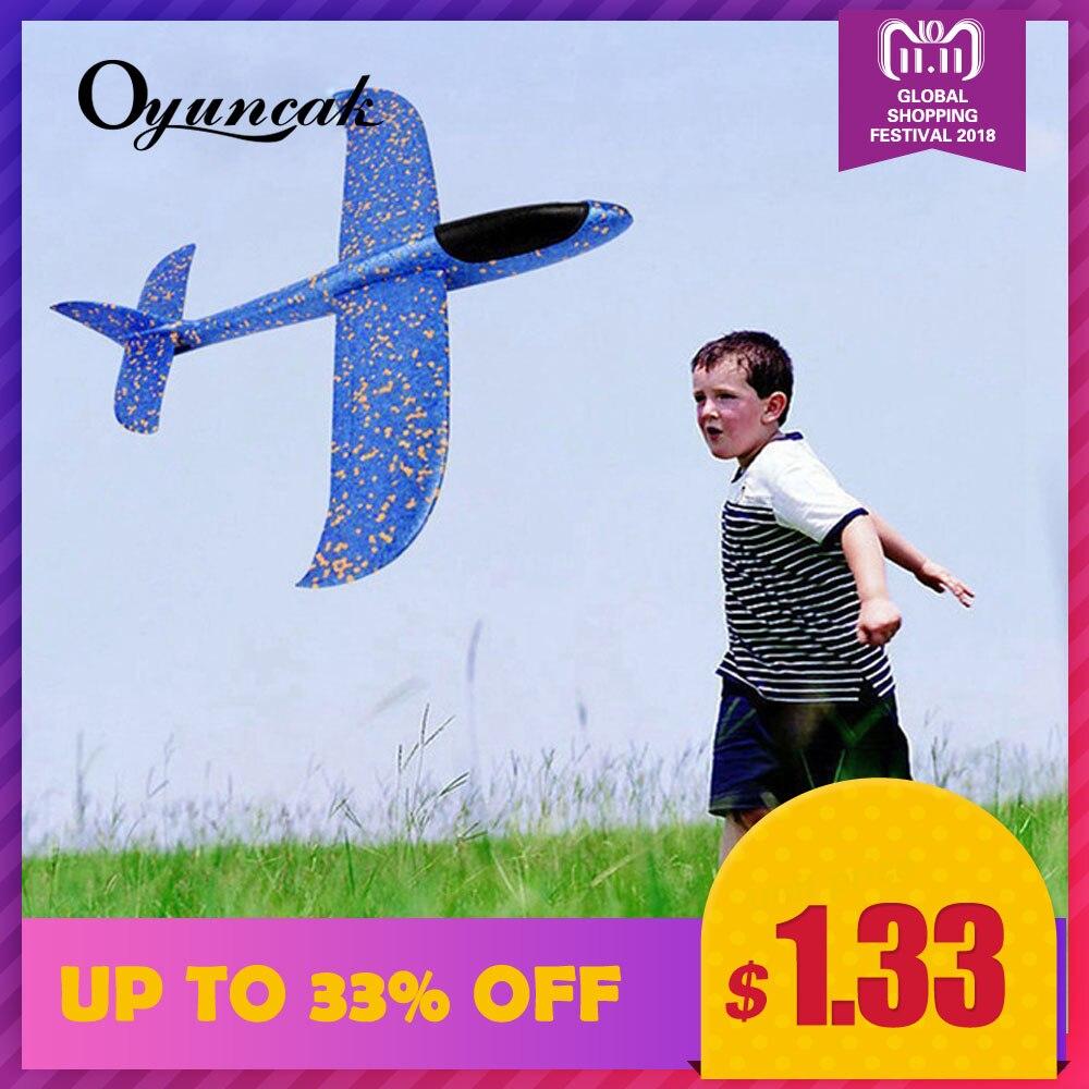 Oyuncak מטוס צעצועי בני דאון מטוסים מעופף דגם דאונים קצף מטוס מטוסי צעצועי משחקי חיצוני כיף ספורט