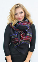 Plaid Oversized Blanket Scarf Multi-Colored Tartan Scarf 100pcs/lot free shipping by express