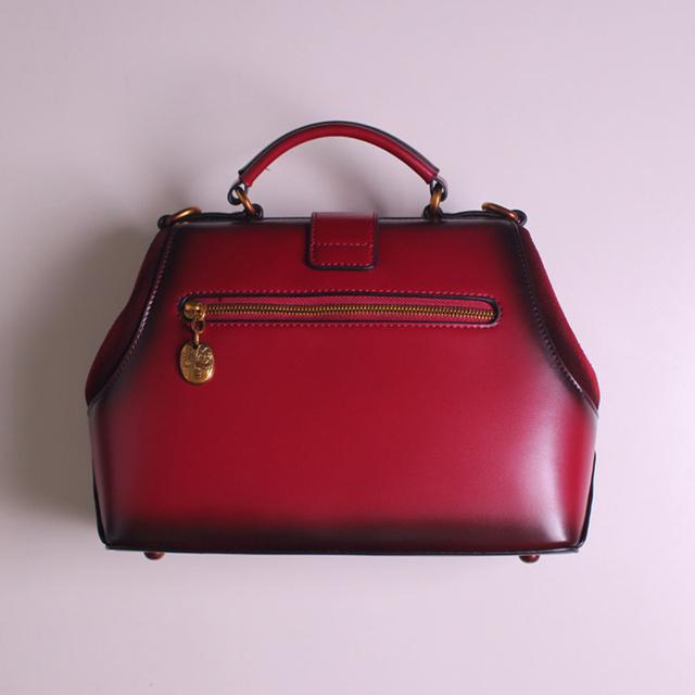 Doctor Bag 2017 New Women Handbag Female Shoulder Bag Leather Handbag Simple Original Retro  Messenger Bags Crossbody Women Bag