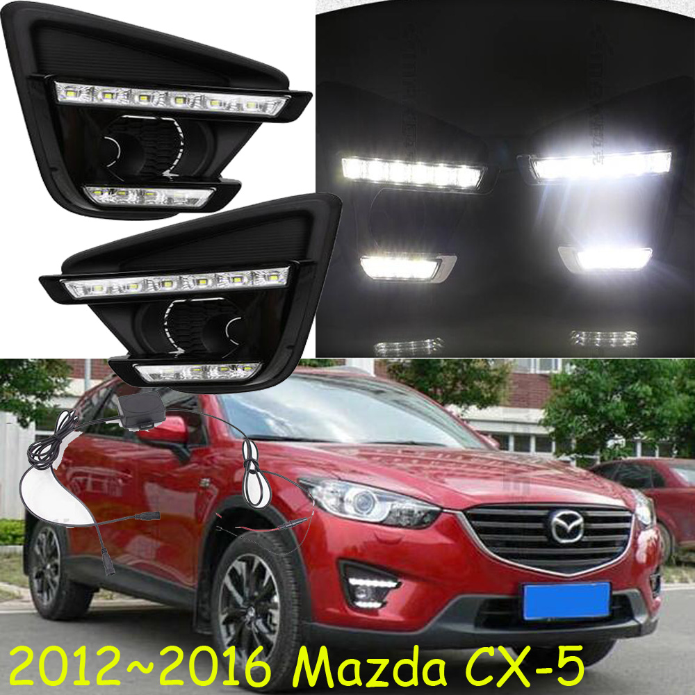2015 2016 mazd CX 5 daytime light Free ship LED CX 5 fog light mada 2ps
