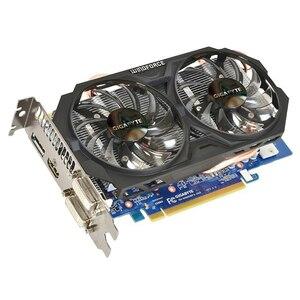 Видеокарта GIGABYTE GTX 660 2 Гб 192Bit GDDR5 для видеокарт nVIDIA Geforce GTX660 используется VGA карты сильнее, чем GTX 750 TI