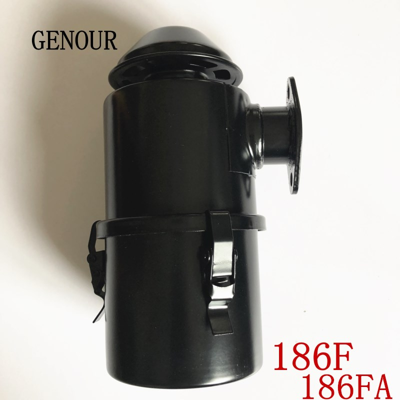 Filtre à air diesel 186F pour générateur de moteur DIESEL chinois 186F 186FA 188F livraison gratuite KAMA KIPOR filtre à AIR
