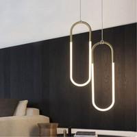 Northern Europe Modern Creative Concise Art Deco Pendant Light Cafe Restaurant Bedroom Decoration Lamp Free Shipping