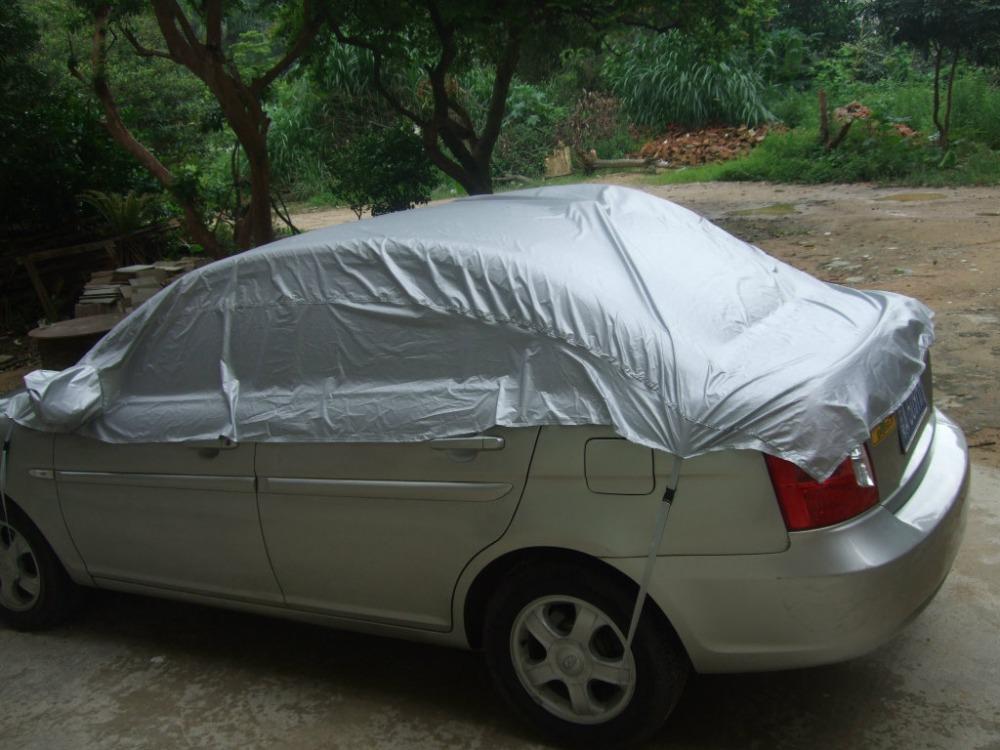 Car-Cover-Prevent-Heat-Cold-Sun-Rain-Snow-Dustproof-Half-Auto-Cover-For-Ordinary-Sedan-Pickup (4)