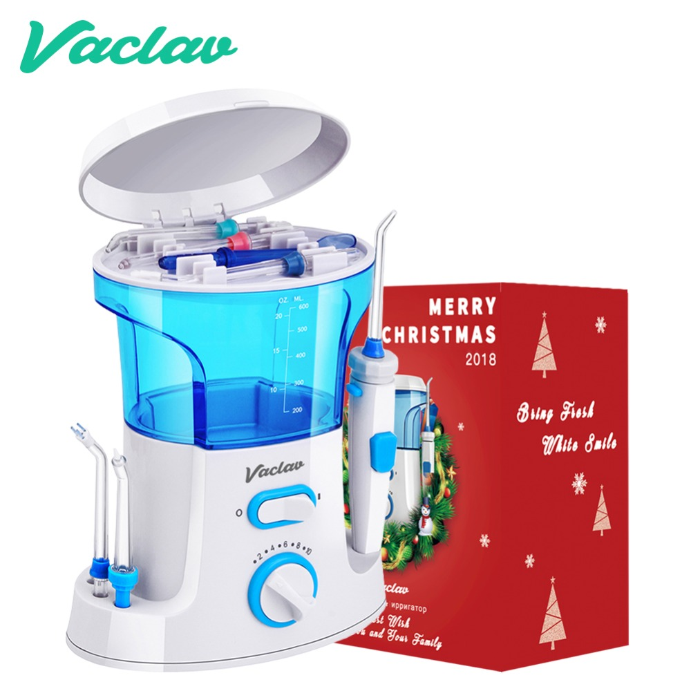 Vaclav Dental Flosser Oral Dental Irrigator Water Flosser Dental Floss Water Floss Tooth Pick Dental Water Jet Oral Irrigation