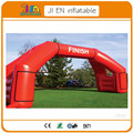10*5mHigh  Angle 4legs  Inflatable   Finish Line Arch /archway,start  racing  arch with removable logo