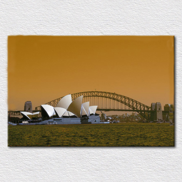 Baby Gifts Australia Sydney : Art painting canvas print photo of attractions australia