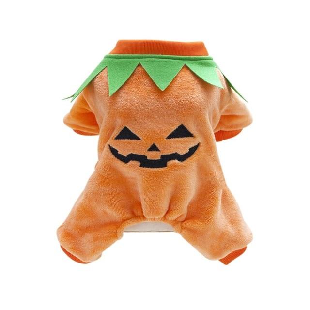 Halloween Hund Kostum Kleidung Fur Herbst Winter Kurbis Muster