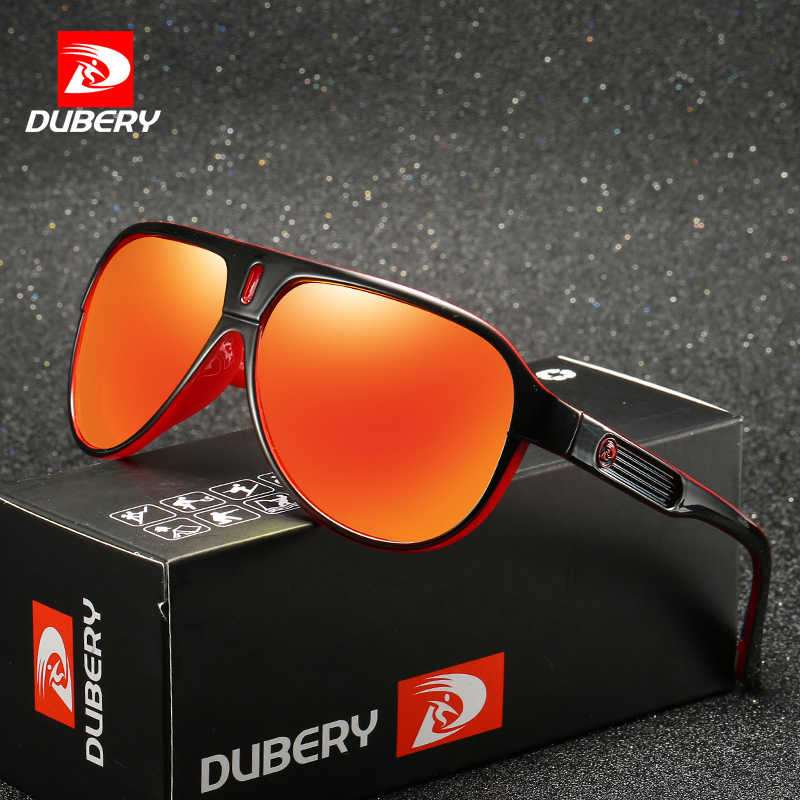 1f08cc4de9 DUBERY 2018 Sunglasses Men s Retro Male Goggle Colorful Sun Glasses For Men  Fashion Brand pilot Mirror