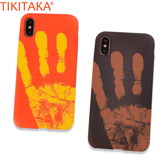 info for 53413 01630 US $1.69 15% OFF Cool Thermal Phone Case For iPhone X Thermal Covers Funny  Heat Case Thermal Sensor Induction Carcasas Coque For iPhone X Capa-in ...