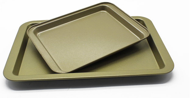 Professional Cake Pans Gold Black Stainless Steel Pizza Baking Dish Bakeware Pan Pie Bread Loaf