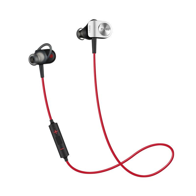все цены на MEIZU EP51 Wireless Bluetooth In-ear Earphones Hifi APT-X Waterproof Sports Earbuds Aluminium for Original EP-51 Headphones онлайн