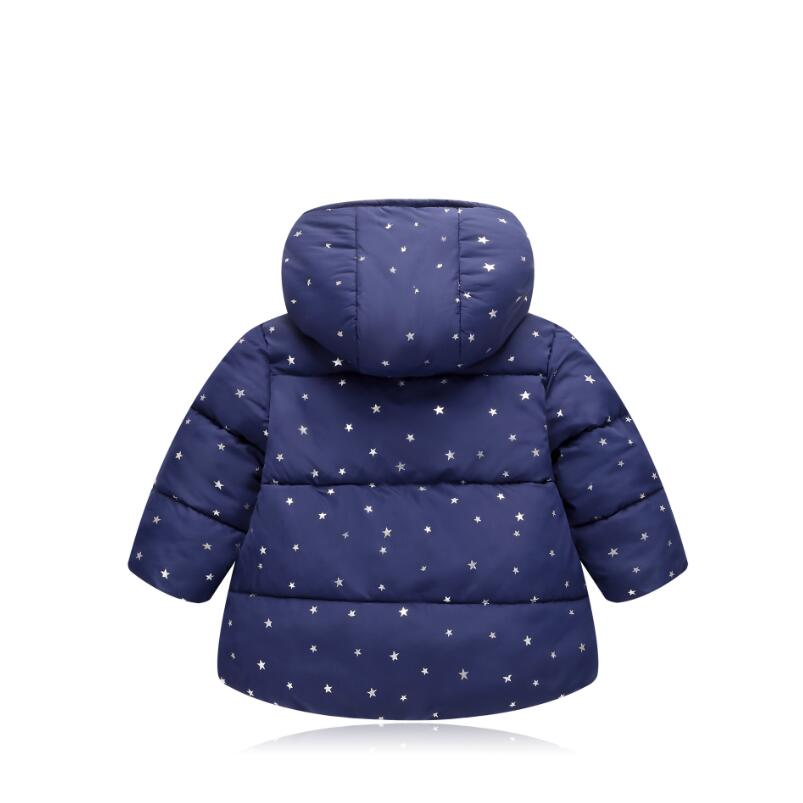 Children Outerwear Fashion Spring Autumn Hooded Coats&Jacket For 1-2-3-4-5 years Kids