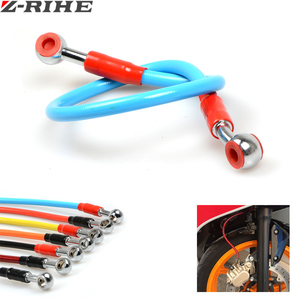 Motorcycle Brake Pipe Tubing Brake Hose Line 450mm Universal Fit Atv Dirt Pit Bike for CR CRF XR XL CRM 85 125 150 230 250 450