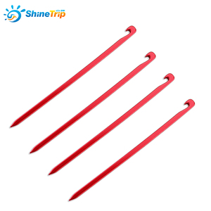10 pieces Shinetrip Tent pegs