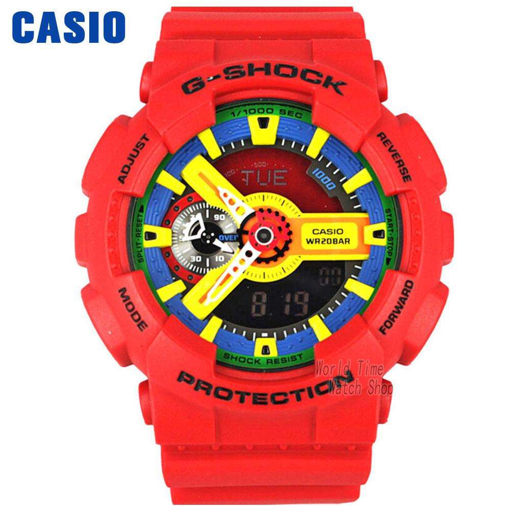 Casio watch large dial outdoor sports waterproof male table GA-110FC-1A GA-110FC-2A casio watch direct action rotary crown movement waterproof male table ga 400gb 1a ga 400gb 1a4 ga 400gb 1a9
