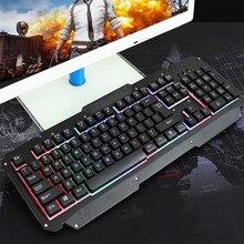 Mechanical Keyboard USB Wired Computer Gaming Keyboard Backlit For Laptop Keyboard