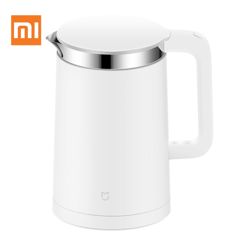 Original Xiaomi Thermostatic Electric Kettle 1.5L Phone App Control 12 Hours Constant Temperature Smart Teapot Heat PreservationOriginal Xiaomi Thermostatic Electric Kettle 1.5L Phone App Control 12 Hours Constant Temperature Smart Teapot Heat Preservation