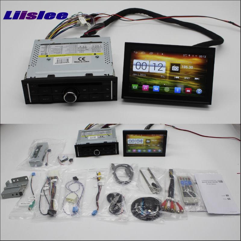Liislee voiture Android multimédia pour Mitsubishi L200 2008 ~ 2013 Radio stéréo lecteur CD DVD GPS Navi Navigation système Audio vidéo
