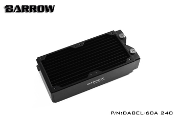 Barrow Dabel-60a Dabel 240mm 2 x 12cm 60mm Height Copper Radiator Water Cooling