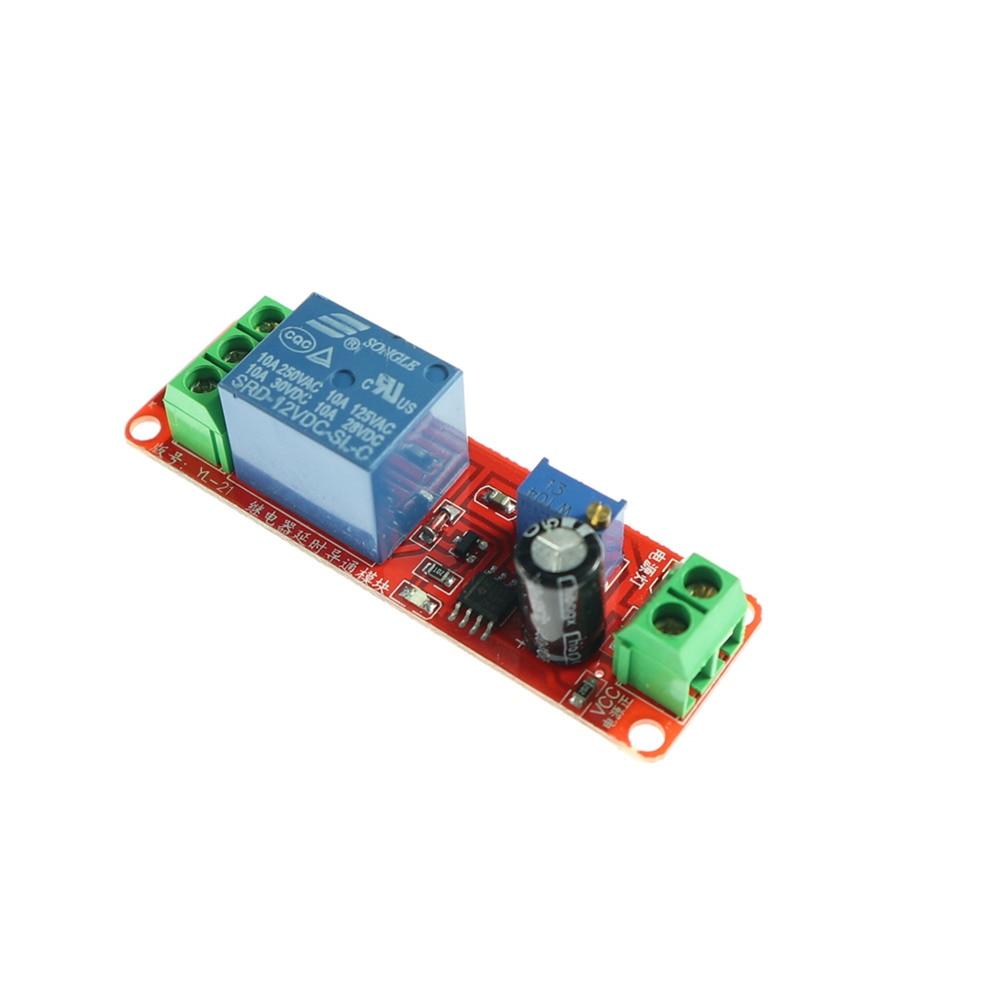5pc DC 12V Delay Relay Shield NE555 Timer Switch Adjustable delay turn-on Module