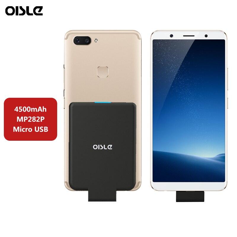 4500 mAh Micro USB di Potere Senza Fili Per Il Caso di Xiaomi Redmi 6A 4X 5A Nota 5 Pro Più la Cassa di Batteria Esterna caricatore di Sostegno Accumulatori e caricabatterie di riserva