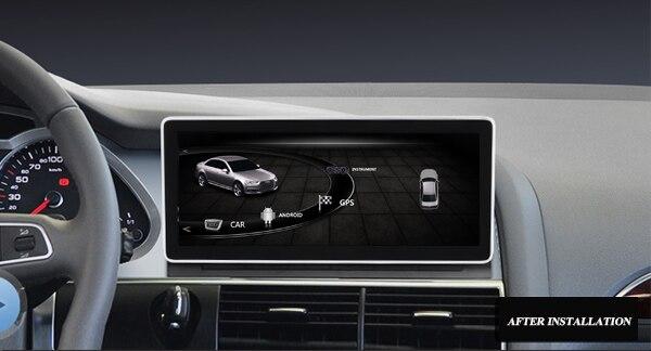 Автомобильный мультимедийный плейер для Audi Q7 Audi A6L с gps навигацией 10,25 дюймовый экран ips bluetooth Встроенный Wi Fi с внешней antena