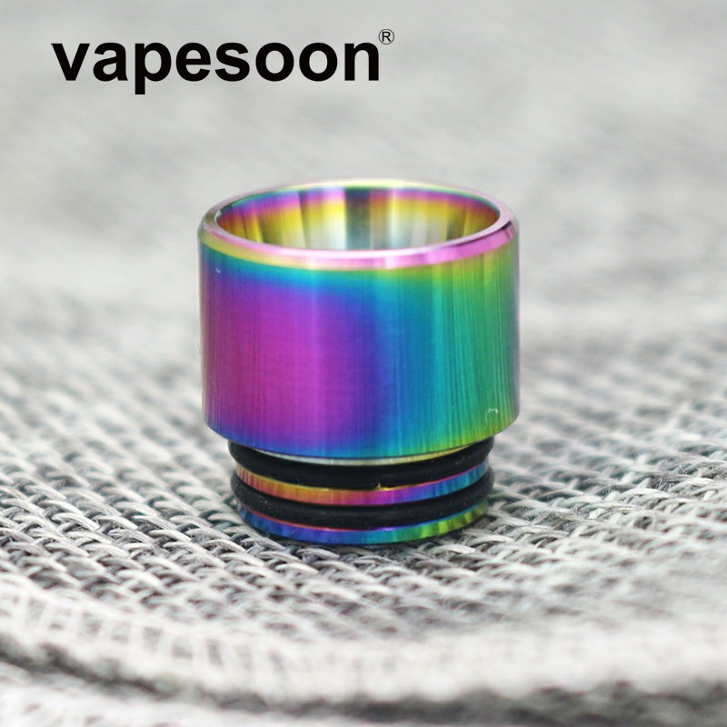 50pcs VapeSoon 810 Stainless Steel Drip Tip Anti fried oil Drip Tip For TFV8 Mad Dog
