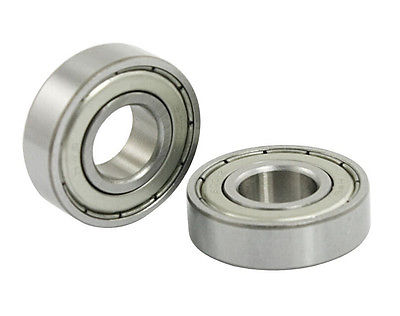 5Pcs 12mm x <font><b>28mm</b></font> x 8mm 6001Z Shielded Deep Groove Radial <font><b>Ball</b></font> <font><b>Bearing</b></font> image