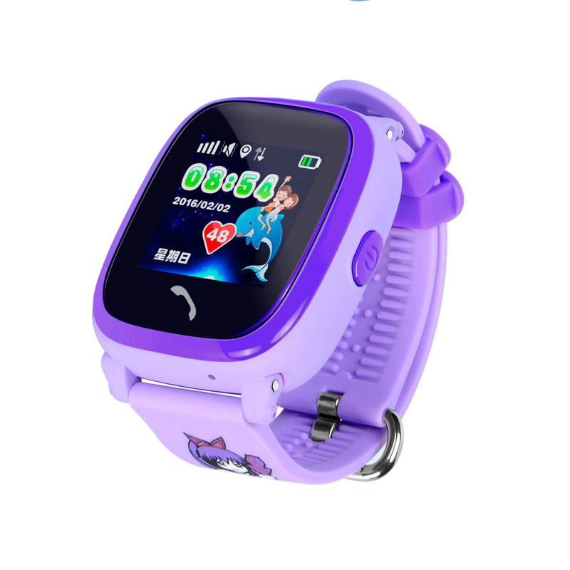 DF25 GPS Smart Watch SOS Call IP67 Waterproof Smartwatch For Child Kids Safe Device Tracker Anti-Lost Child Smartwatch