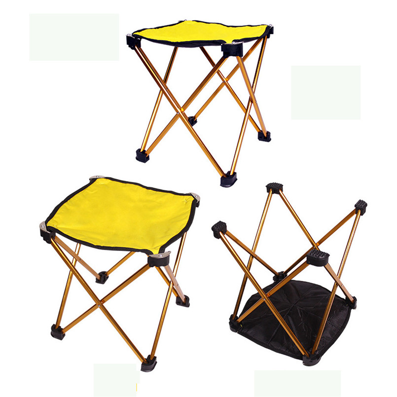 Magnificent Us 16 12 40 Off Hot Sale Brand New And High Quality Outdoor Portable Folding Camping Hiking Fishing Picnic Bbq Stool Chair A3 In Fishing Chairs Squirreltailoven Fun Painted Chair Ideas Images Squirreltailovenorg