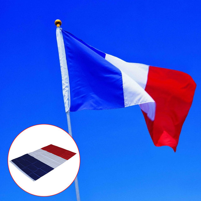 polyester france flag french country indoor outdoor banner pennant