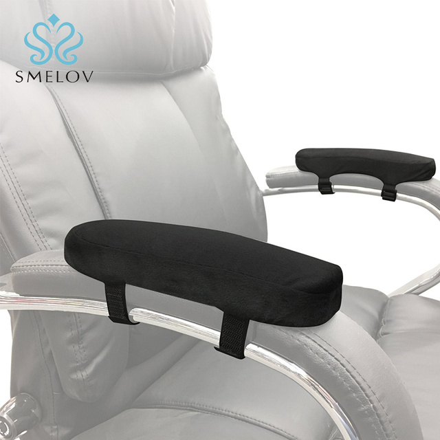 2pcs Chair Armrest Pads For Office Soft Elbow Pillows Protector Long Arm Sleeve