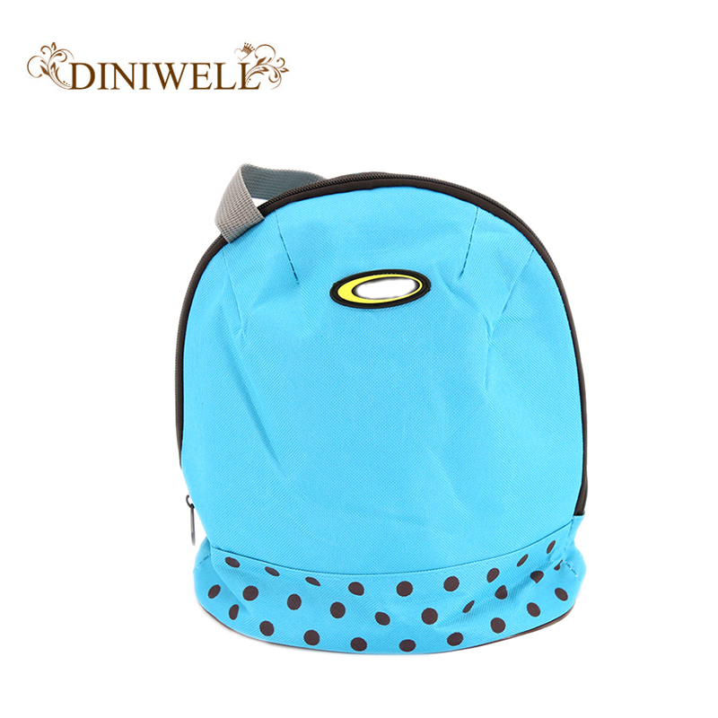 DINIWELL Fashion Portable Insulated Canvas lunch Bag Thermal Food Picnic Lunch Bags for Women kids Men Cooler Lunch Bag