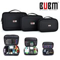 BUBM 3PCS/Set Universal Organizer Earphone Wire Flash Drives Digital Gadget Devices USB Data Cable Organizador Storage Bag Case