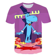 Happy Tree Friends T-Shirt T Shirt Lumpy Cartoon Print Short-Sleeve Fashion Tee Cute Male/Female Tshirt