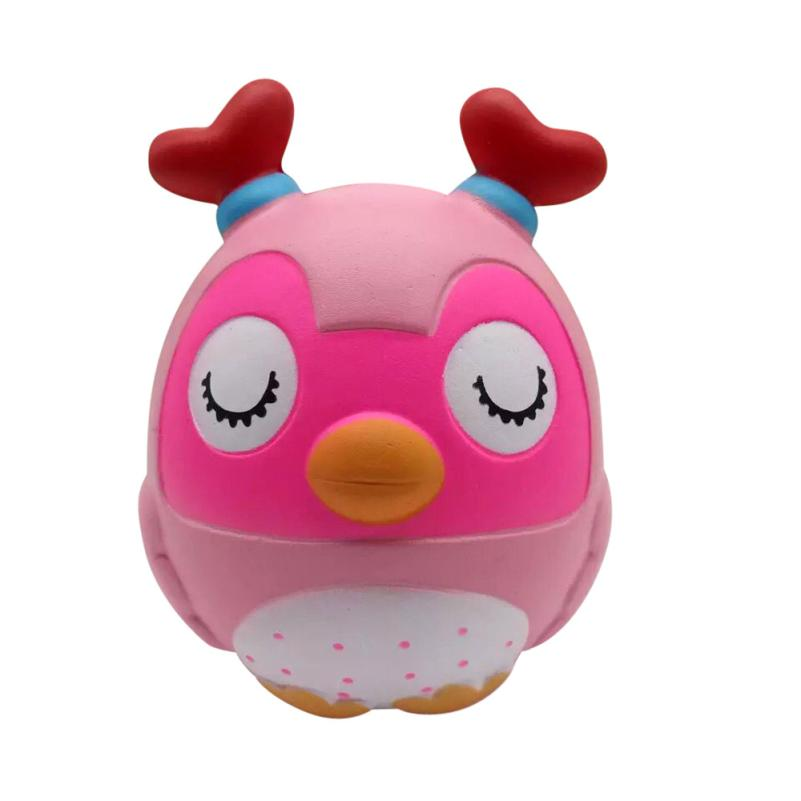 Squishy Animals Scented Soft Antlers Owl Kawaii Squishies Slow Rising Jumbo Funny Antistress Toy 30S8510 drop shipping