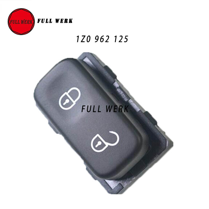 1z0 962 125 car central door lock switch unlock switch. Black Bedroom Furniture Sets. Home Design Ideas