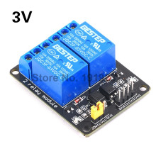 3.3V 2 Channel Relay Module Optocoupler Isolation M
