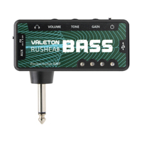 Valeton Pocket Guitar AMP RUSHEAD Bass Mini Amplifier Electric Bass Guitar USB Charge Headphone Splitter Valeton