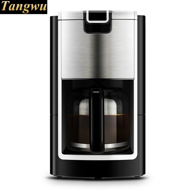 American coffee machine is a full-automatic drip - making home intelligent fully automatic american style coffee machine drip type small is grinding ice cream teapot one machine