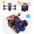 Nuevo Diseño de Tipo de Variedad de formas Desmontaje DIY coche de dibujos animados niño Juguetes Educativos Ensamblado Modelo de Herramienta de sujeción Con Destornillador