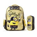 Minion Backpack 2016 Kids School Bags for Boys girls cute 3D cartoon Schoolbag Backpacks children school bags mochila escolar