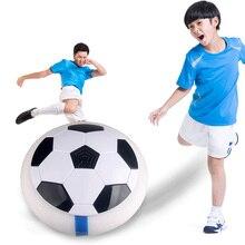 Воздушный мощный футбол светодиодный свет мигающий шар игрушки диск скольжение мульти-поверхность парящий Футбол Подарок для игры для детей Chidren