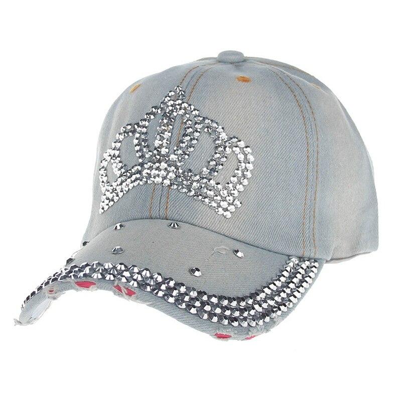 d677ec4aa70cfc ... Baseball Cap Women Men 2018 New Summer Diamond Snapback Hat Hippie Hip-Hop  Adjustable Casual ...