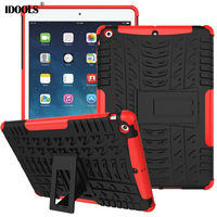 Cover Case For Apple Ipad Air Trending Style Hard PC TPU Hybrid High Quality Coque 9
