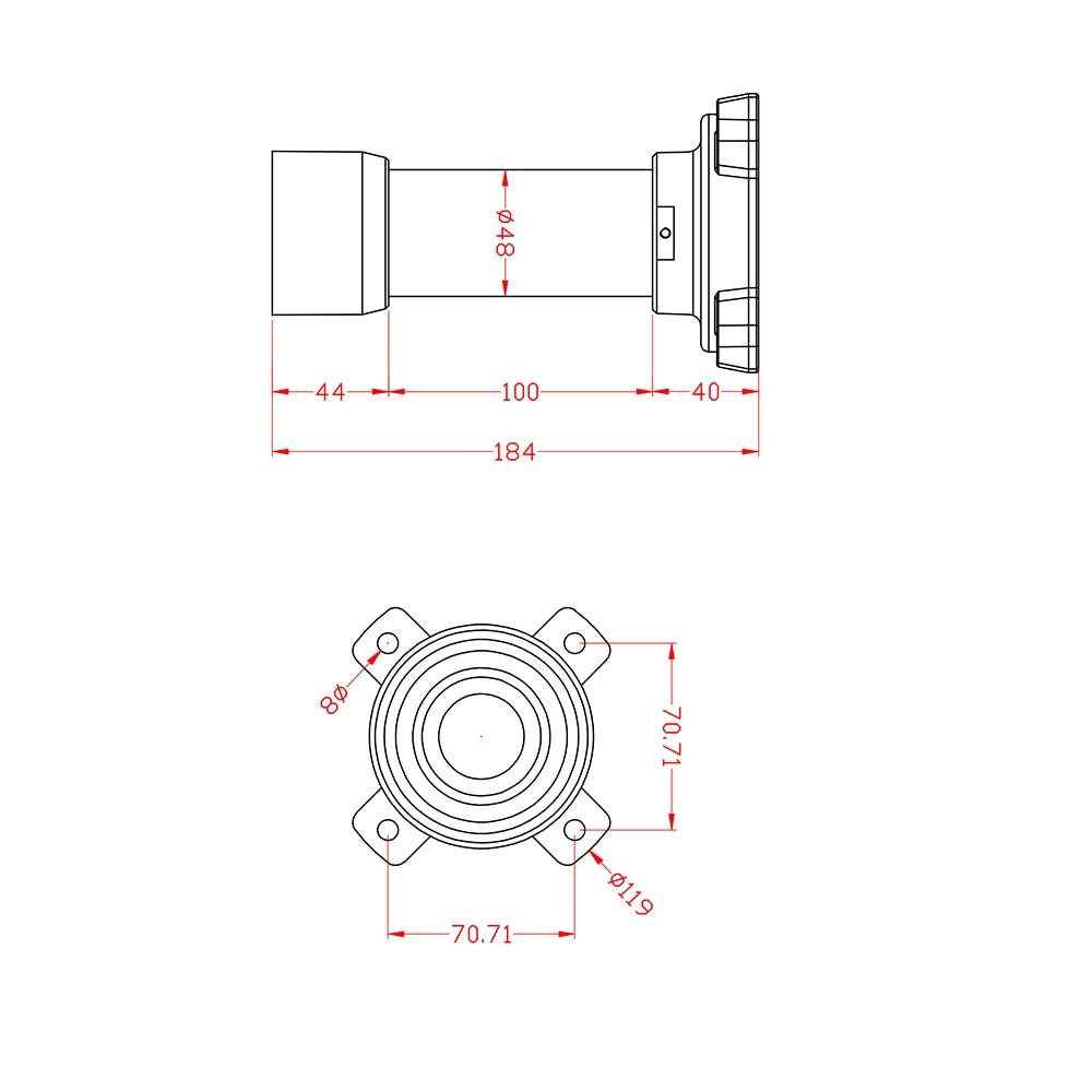 2MP Audio 1080P HD, 4.6 ~ 165.6mm, 36X optisk zoom, IR Laser 300M, - Säkerhet och skydd - Foto 6
