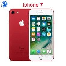 Apple iphone 7, telefone celular, original, 256gb, 4g, lte, iphone7, ios, quad core, 4.7 '', 12.0 mp smartphone com impressão digital,