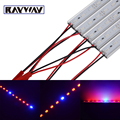 Rayway LED plants hydroponics system flowering light source red & blue led grow light band Strip Light Bars + Aluminum profile